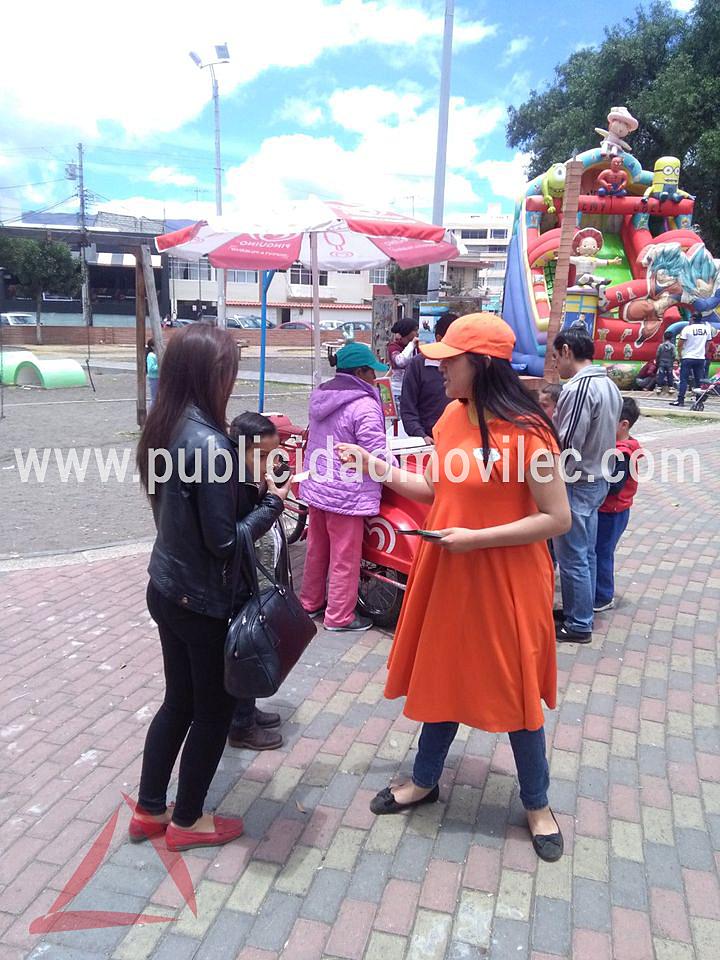 Volanteo de Born en Riobamba