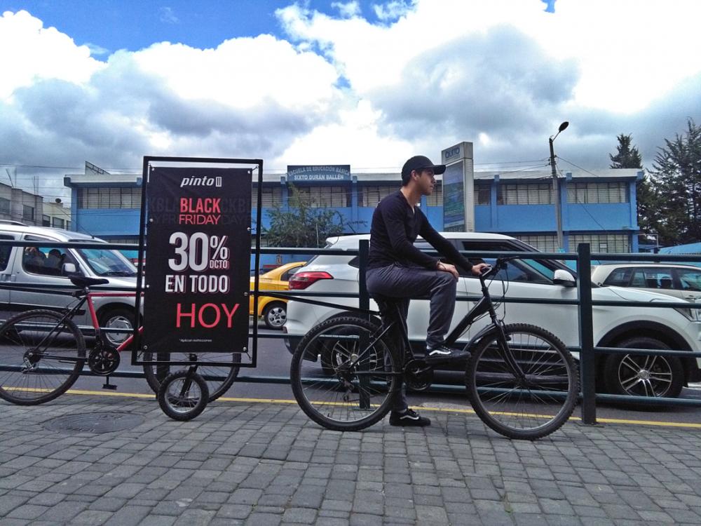 Tiendas Pinto se suma a la publicidad que no genera contaminación